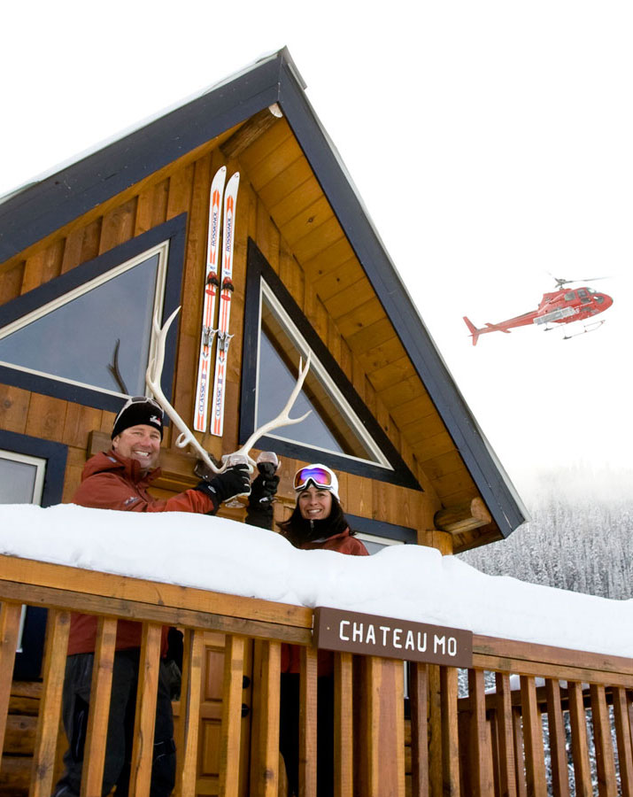 Patric Maloney and Maria Grant Snowwater Heliskiing